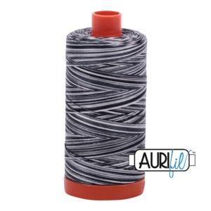 Aurifil Cotton 4665 50wt 1422 yds Var Graphite