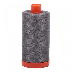 Aurifil Cotton 5004 50wt 1422 yds Grey Smoke