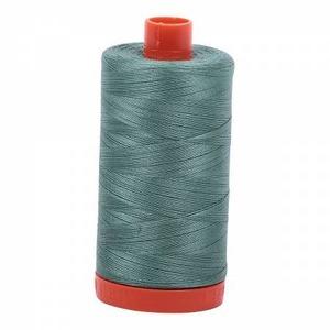 Aurifil Cotton 2850 50wt 1422 yds Med Juniper