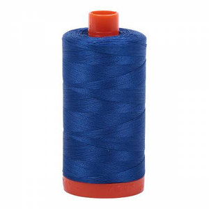 Aurifil Cotton 2735 50wt 1422 yds Med Blue