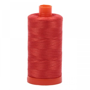 Aurifil Cotton 2245 50wt 1422 yds Red Orange