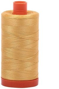Aurifil Cotton 2134 50wt 1422 yds Spun Gold