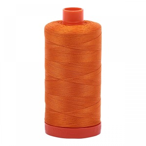 Aurifil Cotton 1133 50wt 1422 yds Bright Orange