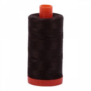 Aurifil Cotton 1130 50wt 1422 yds Very Dark Bark