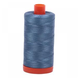 Aurifil Cotton 1126 50wt 1422 yds Blue Grey