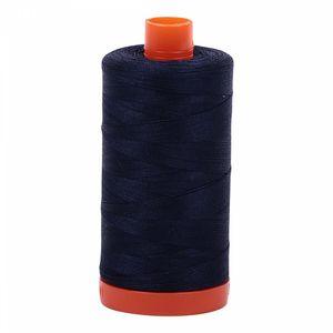 Aurifil Cotton 2784 50wt 1422 yds Dk Navy