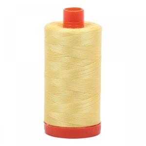 Aurifil Cotton 2115 50wt 1422 yds Lemon