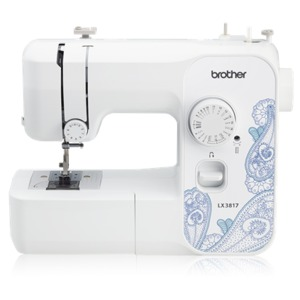 Brother, RLX3817, RJX2517, JX2517, walmart, LX2763, sm3701, 17, stitches, 38, Stitch, function, Light, weight, Free, arm, Mechanical, Sewing, Machine, Brother, LX2500, 2250, ls2250, FS, 17, 38, Stitch, FreeArm, Compact, Light, weight, Sewing, Mending, Machine, LED, Light, Button, hole, Blind, hem, Top, Bobbin, Drop, Feed, 4, Feet, 900SPM, Brother RLX3817 38 Stitch Sewing Machine Refurb, DVD, Manual Thread Cutters, 12Lb Lightweight Full-Sized, Factory Serviced, Same 25Yr Warranty as New