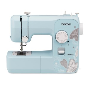 92961: Brother RLX3817 38 Stitch Sewing Machine Serviced, Thread Cutters* DVD, 12Lbs Replaces RJX2517