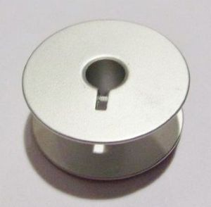 Bobbin 239729S, Aluminum Large M style w/slot for Winders on Long Arm Quilting Machines