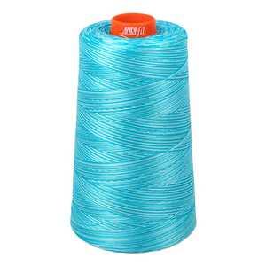 93042: Aurifil A6050-4663 Mako Cotton Thread 50wt 6452yd Cone Baby Blue Eyes