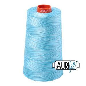 Aurifil A6050-4663 Mako Cotton Thread 50wt 6452yd Cone Baby Blue Eyes