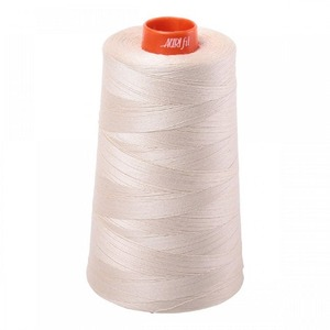 Aurifil A6050-2310 Mako Cotton Thread 50wt 6452yd Cone Light Beige