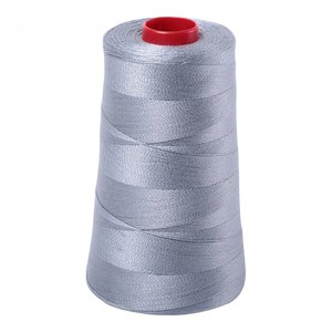 93037: Aurifil A6050-2610 Mako Cotton Thread 50wt 6452yd Cone Light Blue Grey