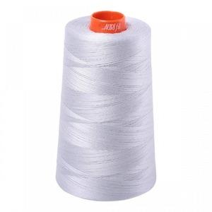 93036: Aurifil A6050-2600 Mako Cotton Thread 50wt 6452yd Cone Dove