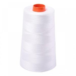 Aurifil A6050-2021 Mako Cotton Thread 50wt 6452yd Cone Natural White