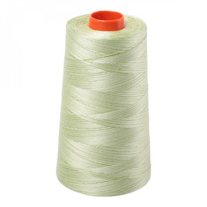 Aurifil A6050-3320 Mako Cotton Thread 50wt 6452yd Cone Spring Green