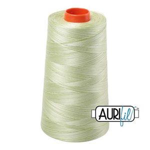 Aurifil A6050-3320 Mako Cotton Thread 50wt 6452yd Cone Spring Green
