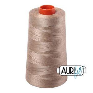 Aurifil A6050-2325 Mako Cotton Thread 50wt 6452yd Cone Linen