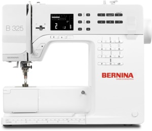 92986: Bernina B335 Computer Sewing Machine, 221 Stitch, 2 Fonts, 1-Step BH, Threader, Start/Stop, Speed control