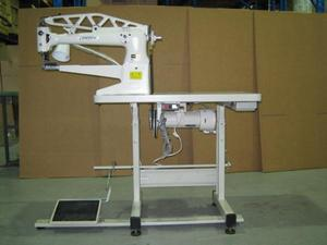 93175: Consew Space Saver Unassembled Table, Stand, Servo Motor for Feed Off the Arm and Cylinder Arm Bed Machines