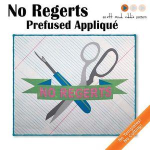 The Stitch TV Show AK101 No Regerts Pre-Fused Applique Kit