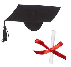 93372: Creature Comforts Toys EB98744 Graduation Hat & Diploma Attaches to Buddy