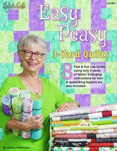 Fabric Cafe FC031741 Easy Peasy 3-Yard Quilts