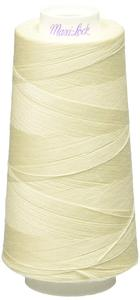 78318: Maxi Lock 51-32674 Eggshell Poly Multi Purpose Sewing Thread 3000 Yards