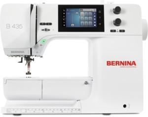 "92985: Bernina B435 Computer Sewing Machine, 7"" Arm, 650 Stitch, Ext Table"