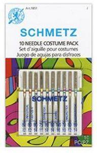 93420: Schmetz S-1851 Costume Needle Combo 10-Pack