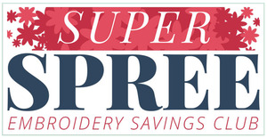 93422: OESD Super Spree Embroidery Design Savings Club, Over $3,000 value