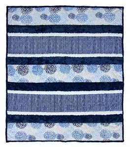 Shannon Fabrics SCKCRAZY8-MB Cuddle Kit Crazy8 Moonlight Blues