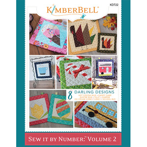 93550: Kimberbell Sew It By Number: Volume 2, Embroidery CD