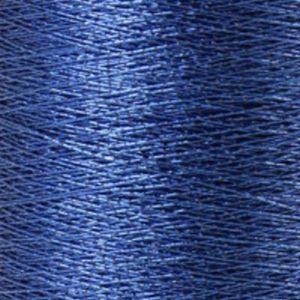 Yenmet Metallic 500m-Solid Royal Blue 7000 Spool of Specialty Metallic Thread