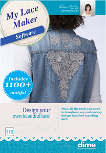 DIME 116DEC- My Lace Maker Inspirations Embroidery Software