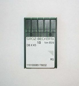 93722: Groz-Beckert DBXK5 GROZ-EMB09 Commercial Embroidery Machine Needles GB Emb Size 65/09 pkg/10