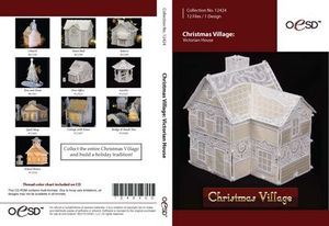 OESD 12424CD FSL Free Standing Lace Victorian Christmas House Designs CD