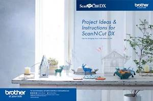 94098: Brother HADSNCDXPROJBK ScanNCut DX Project Booklet