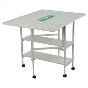94110: Arrow 3401 Adjustable Height Dixie Cutting Table 36x60in White