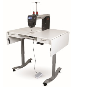 94204: Bernina RMFLONGARM Adjustable Height Air Lift Table for Q20 Quilting Machine