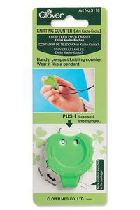 Clover Needlecraft CL3118 Mini Knitting Counter Kacha-Kacha
