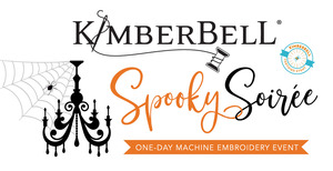 92405: Kimberbell Spooky Soiree 1 Day Machine Embroidery Event September 13th San Antonio Store