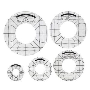 94389: Good Measure by Amanda Murphy Low Shank Set of 5 Circles