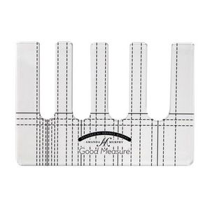 94393: Good Measure by Amanda Murphy Every Line: Low Shank or Longarm Template Options