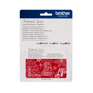 Brother CATTLP11 Tattered Lace Collection 11 for New Scan N Cut SDX225