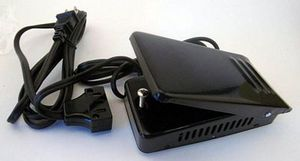 94478: Sears Kenmore FC-6605 Variable Speed Metal Foot Control Pedal 723 Plugs & Cords