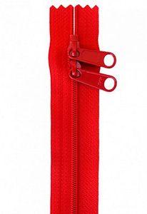 Patterns by Annie ZIP40-260 Handbag Zippers, 40 in Double Slide-Atom Red