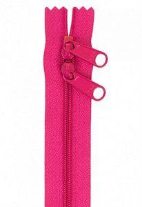 Patterns by Annie ZIP40-250 Handbag Zippers, 40 in Double Slide-Lipstick