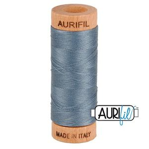 Aurifil 1080-1246 Cotton Mako Thread 80wt 280m DARK GRAY